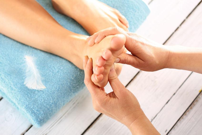 Acupressuur Ontspannende Voetenbad & voetmassage